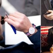 đồng hồ nam dây vải cuộc cách mạng phong cách 1